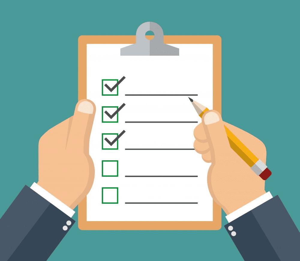 16 checklist