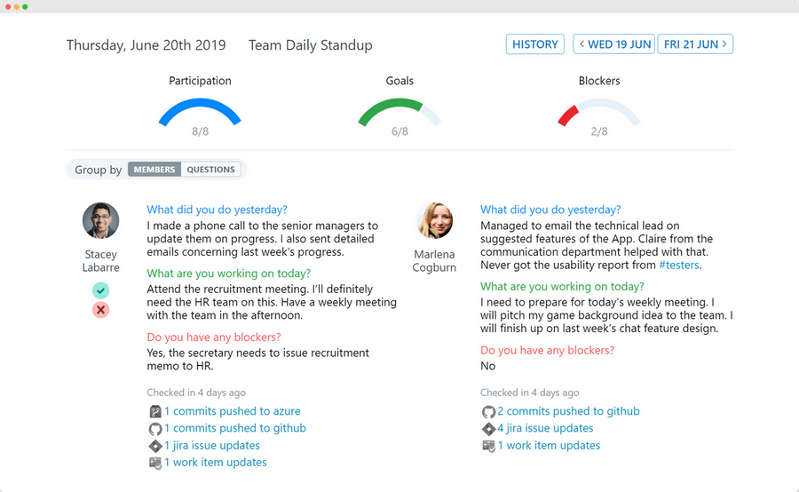 Automated daily standups on Cisco WebEx Teams | ScrumGenius