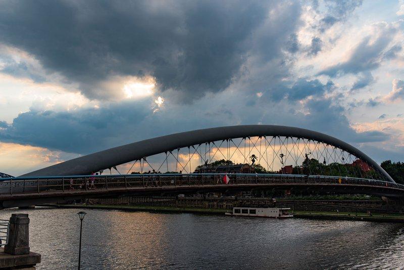 Father Bernatka Bridge (Kładka Ojca Bernatka)