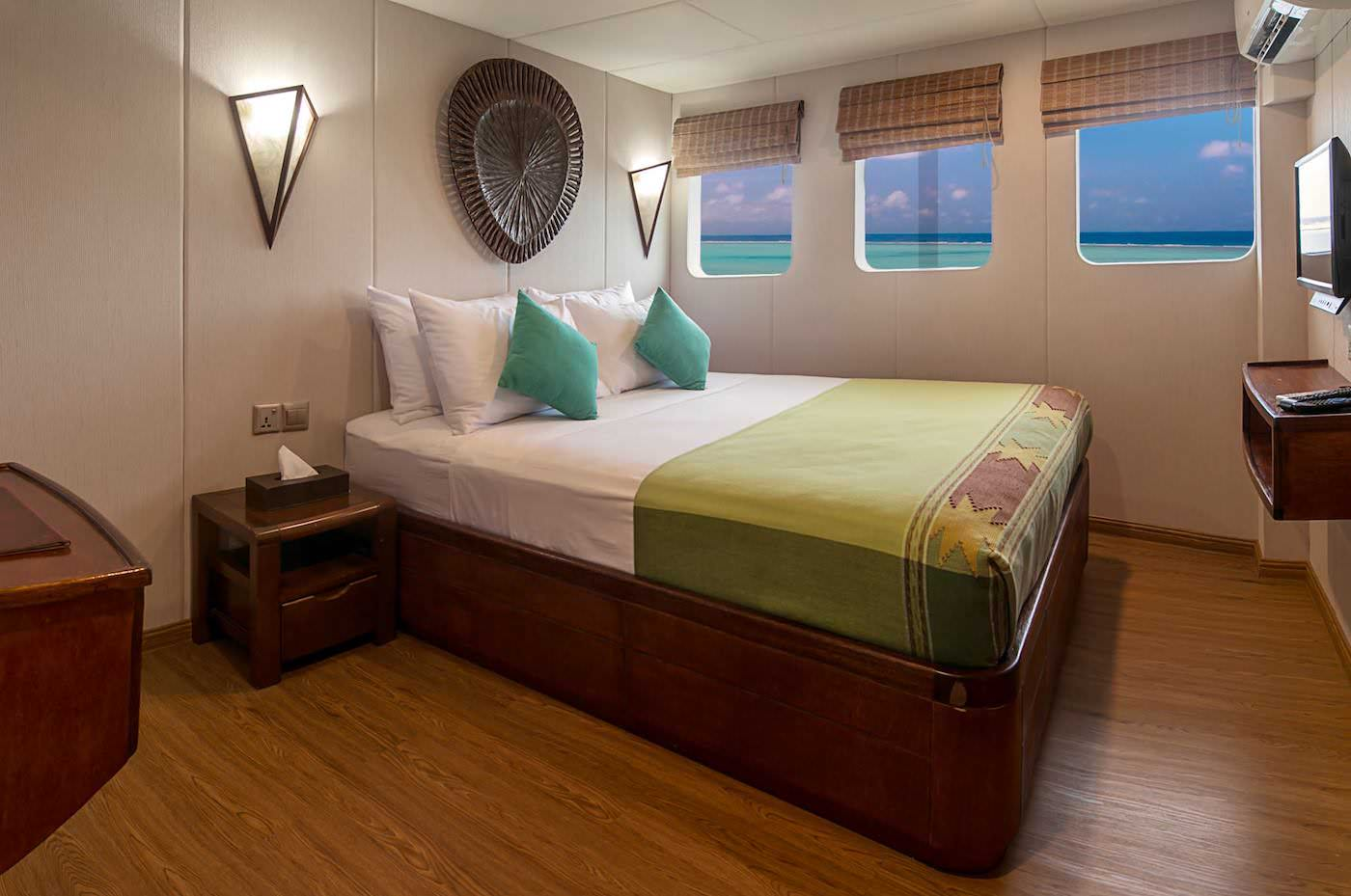Carpe Diem Boat Charter Maldives Surfing and Diving Suite