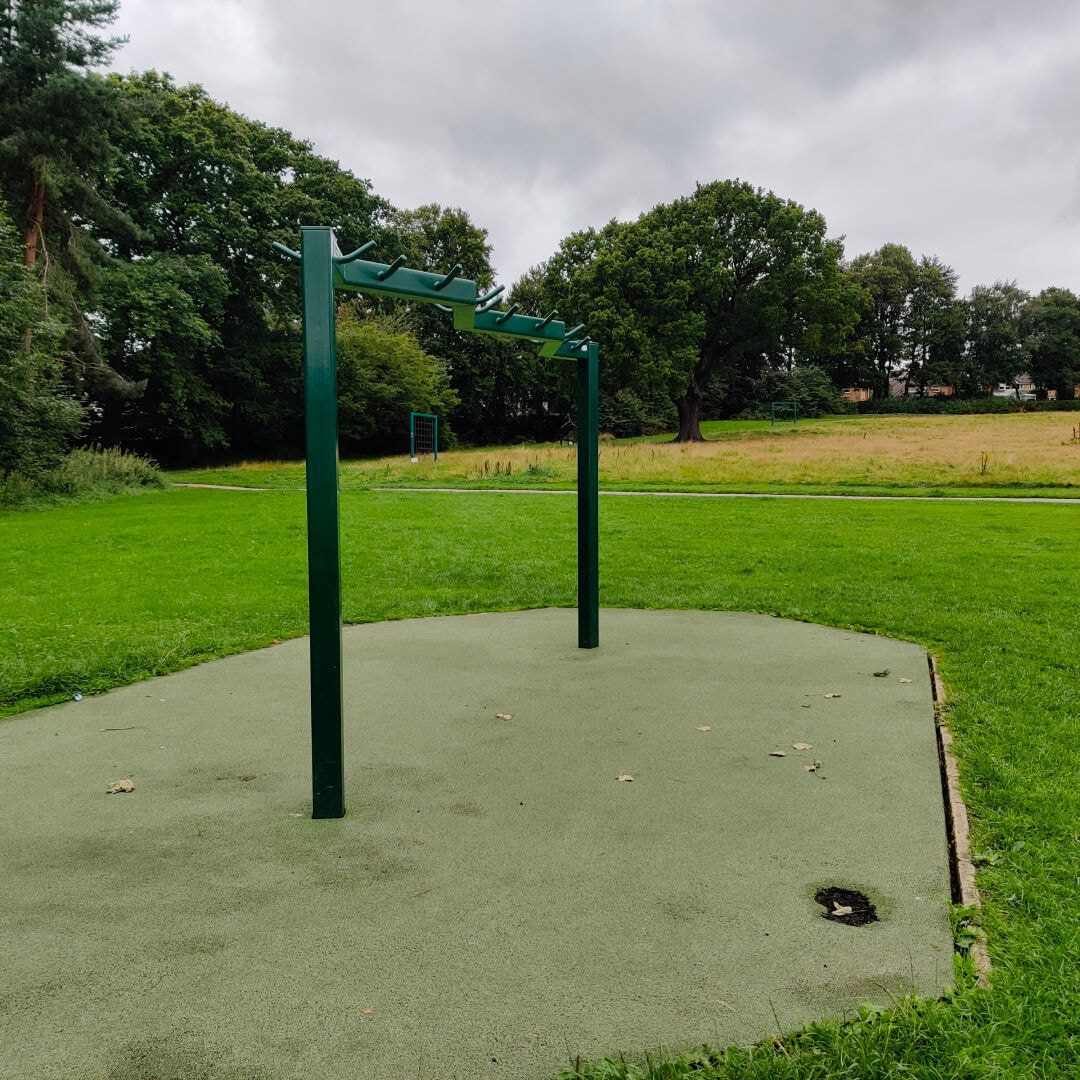 Horsforth Hall Park exercise equipment