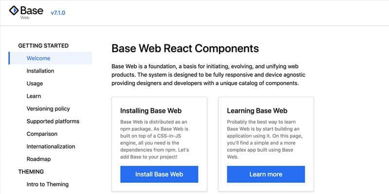 Base Web