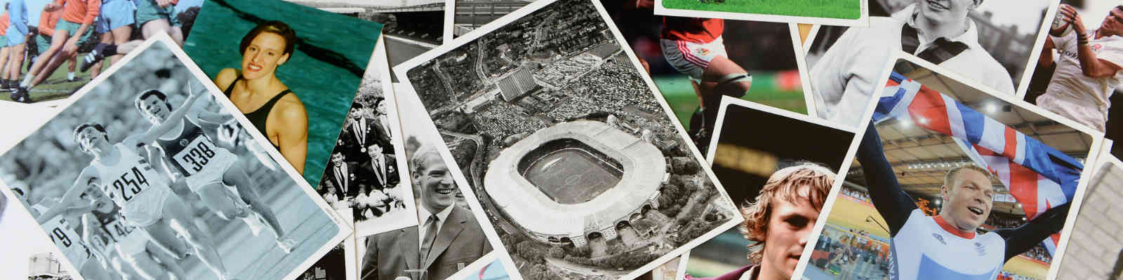 Sporting Memories photo collage