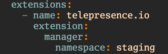 Feature: Traffic-manager in custom namespace