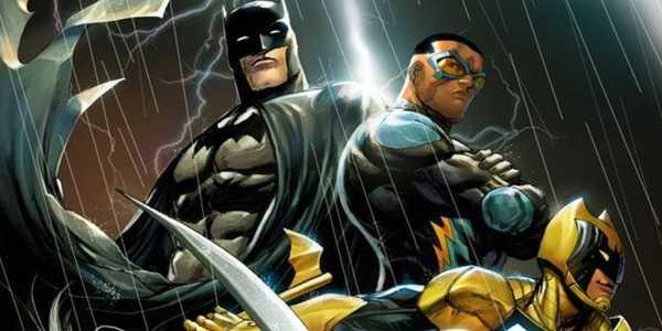 Batman, Raio Negro e Sinal em Nova HQ Batman e os Renegados