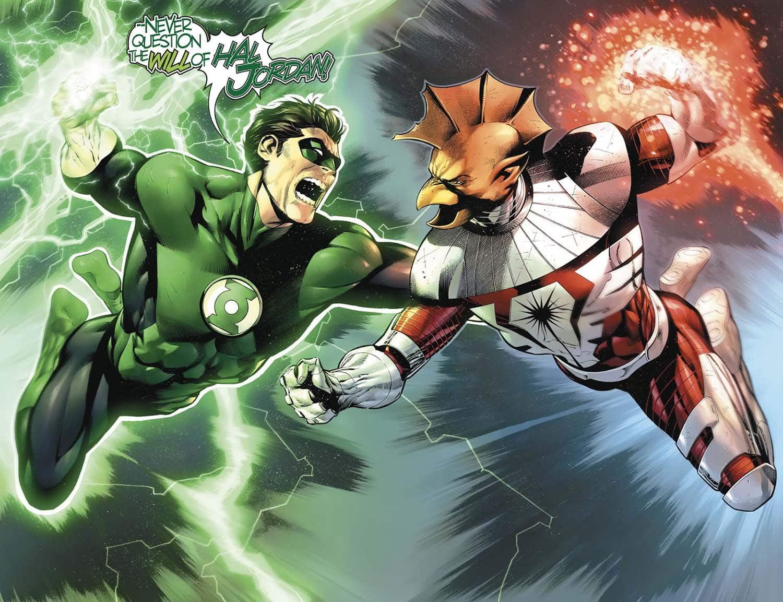 Guerra Lanternas Verdes x Darkstars Wall