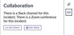 Collaboration panel