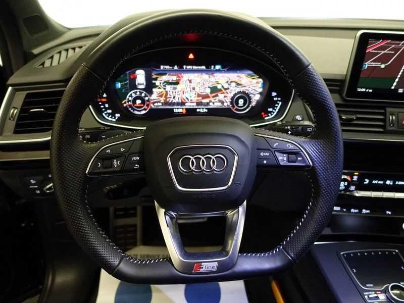 Audi Q5 2.0 TFSI 252pk Quattro [S-Line] Autom- Virtual Cockpit, Leer, B&O, Camera, Xenon Led, Nw model! afbeelding 10