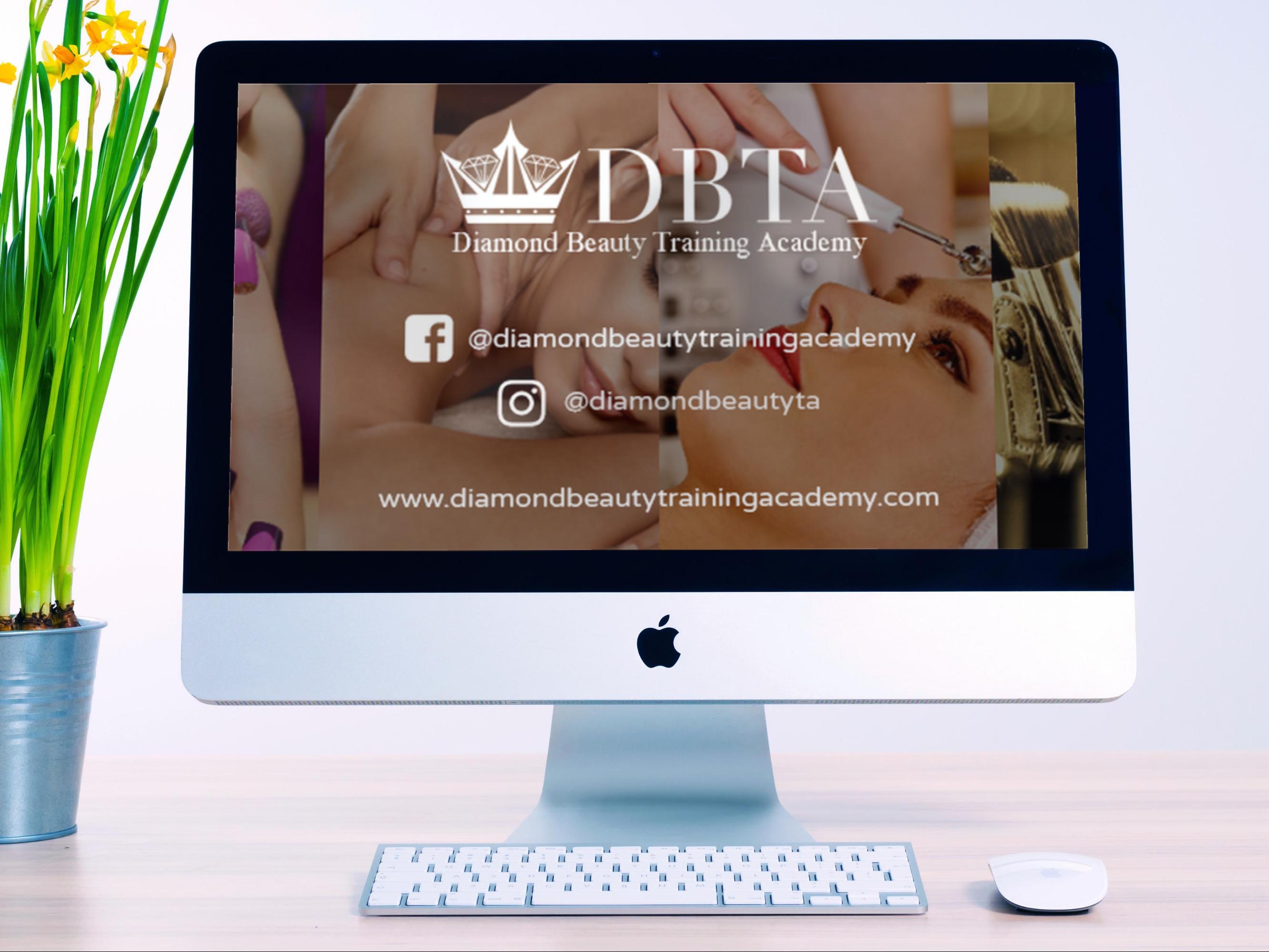 Diamond Beauty Training Academy Facebook Cover
