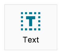 Adding a Text object