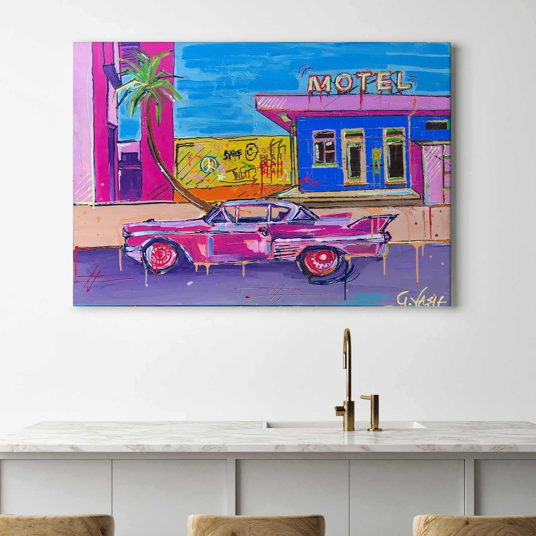 Motel Painting