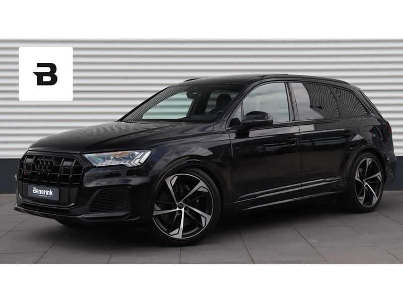 Audi SQ7 4.0 TDI 435pk quattro 7p Panoramadak, BOSE, Massage, Ruitstiksel, Trekhaak afbeelding 1