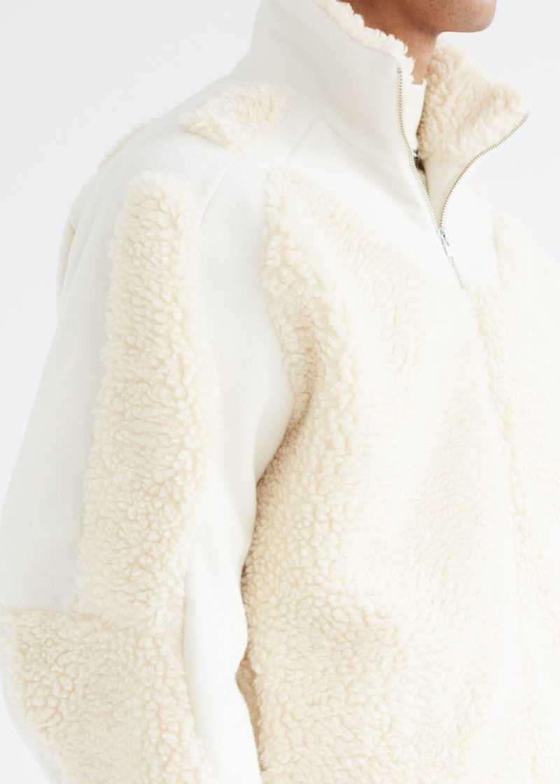 Ercan Jacket Cream detail