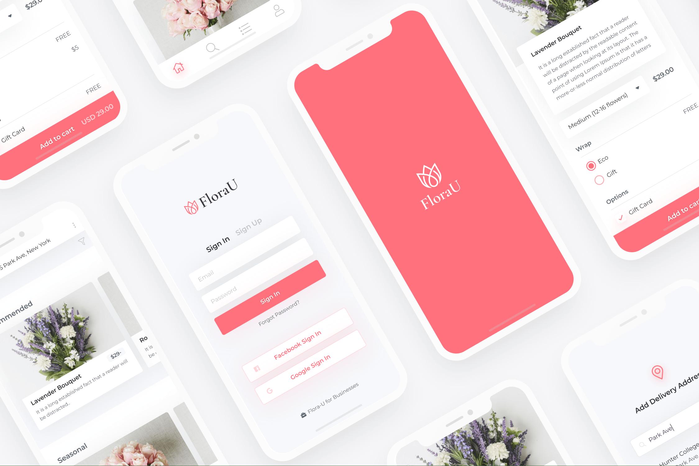 Flora-U Mobile App