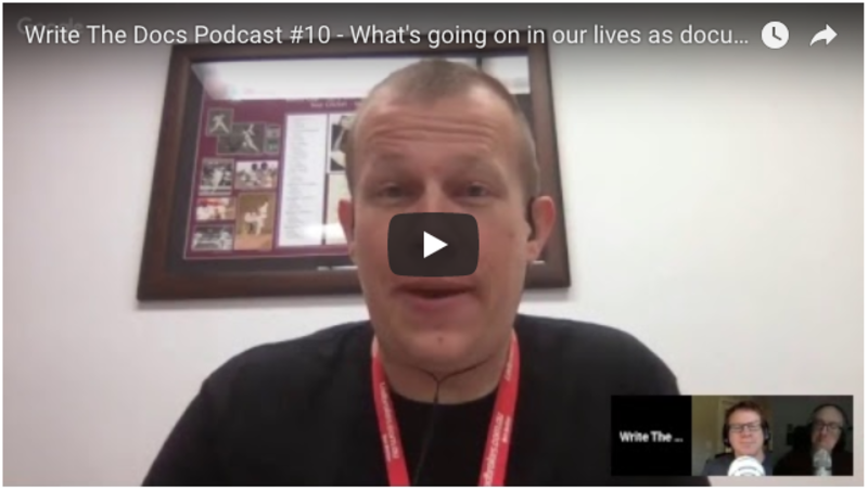 WTD Episode 10 - What's going on in our lives as documentarians and product owners