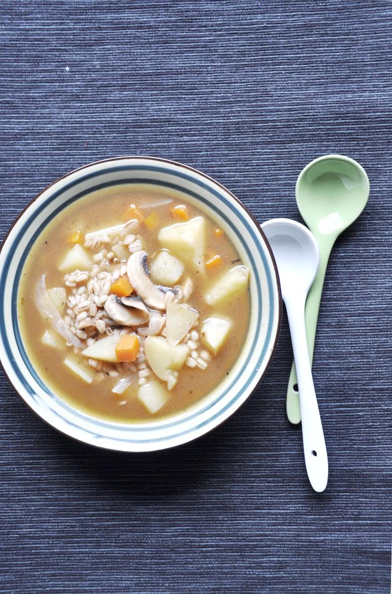 Krupnik Polish Barley Soup