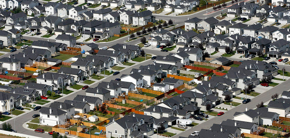 Calgary urban sprawl