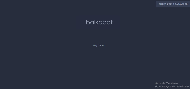 Balko bot
