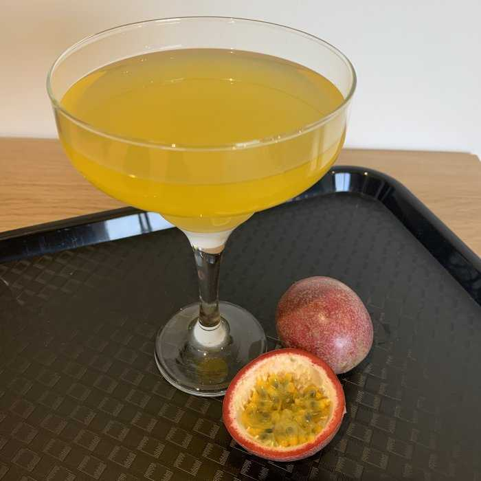 Passion Fruit Martini Cocktail