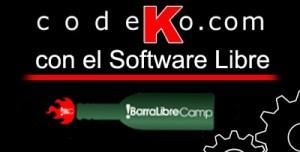 Codeko patrocina la !barraLibreCamp