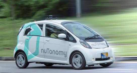 nuTonomy's self driving car