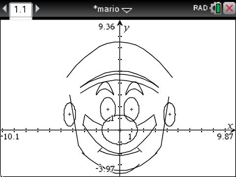 How to Draw Mario on the TI-Nspire