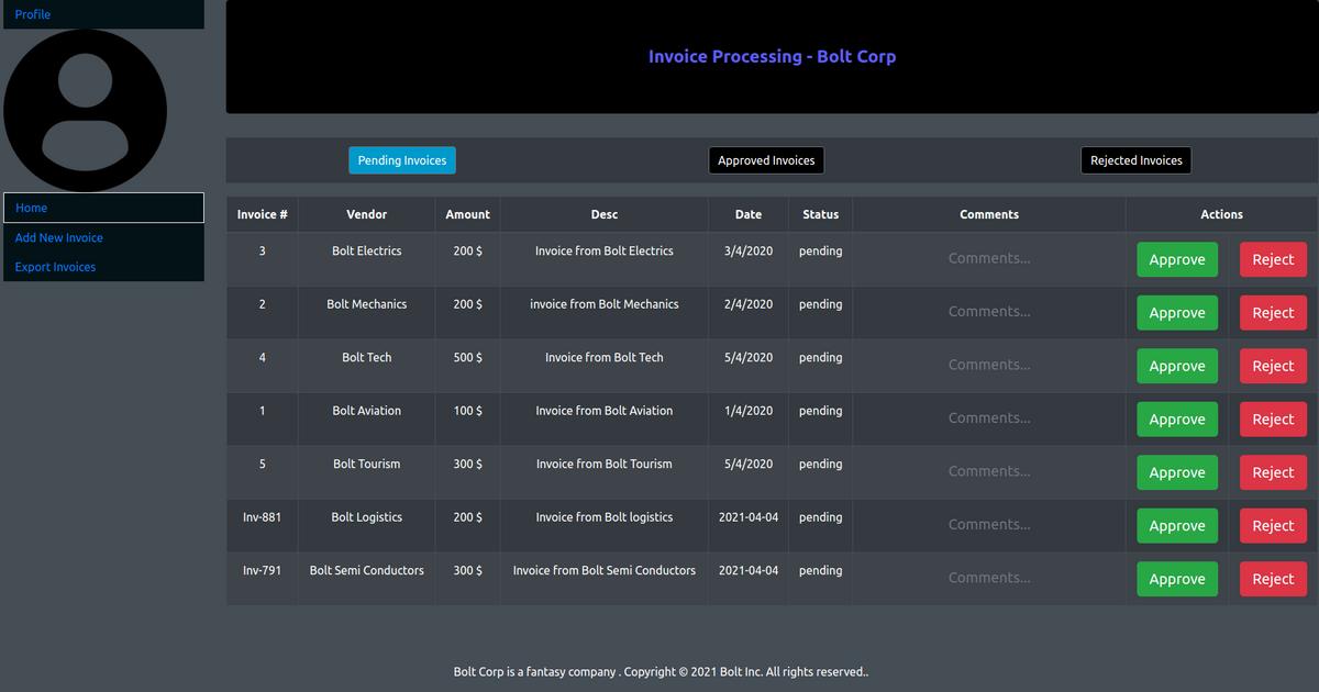 Invoice Processor