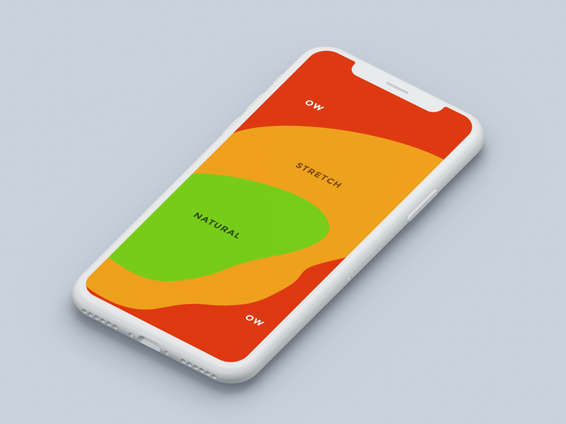 A heat map for iPhone X