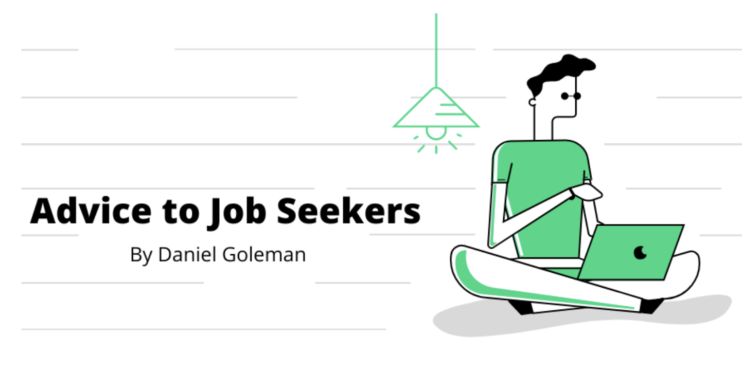 Advice To Job Seekers