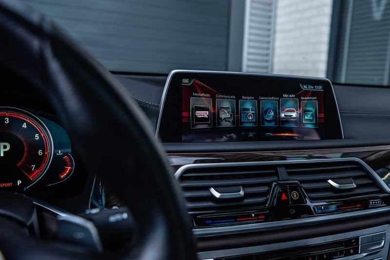 BMW 7 Serie 750i xDrive High Executive, 450 PK, Schuifdak, Gesture Control, Display/Key, Massage, Head/Up, Surround view, 56DKM!! afbeelding 19