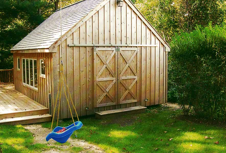 Shed Blakewood Construction 04
