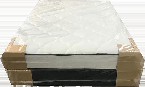 NZ Made 'Bonnel' mattress with base