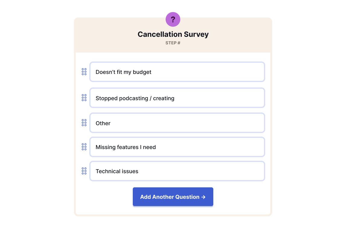 Churnkey sample survey