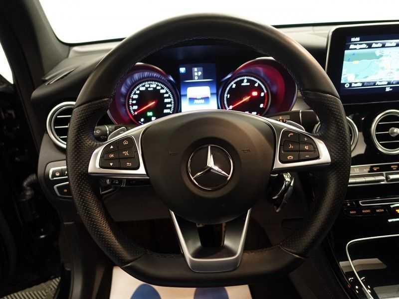 Mercedes-Benz GLC 250D 4MATIC 9G- AMG Night Edition, Pano, Rijassistentiepakket,Leer, Full afbeelding 17