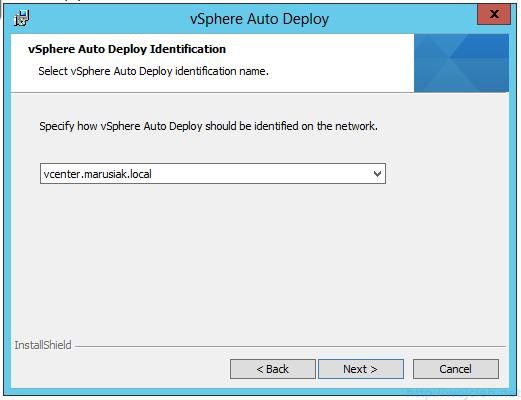 VMware vSphere Auto Deploy installation guide - software 8