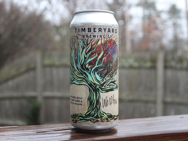 Wolftree, a Stout brewed by Timberyard Brewing Company