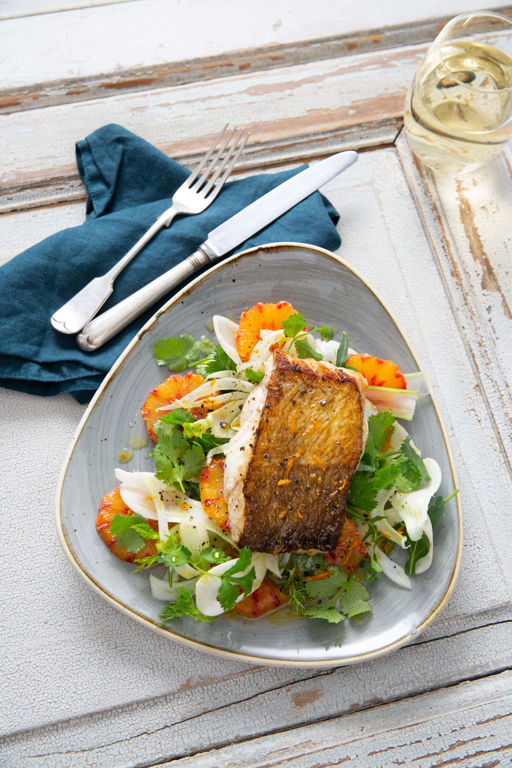 cod-and-blood-oranges-on-a-fennel-salad