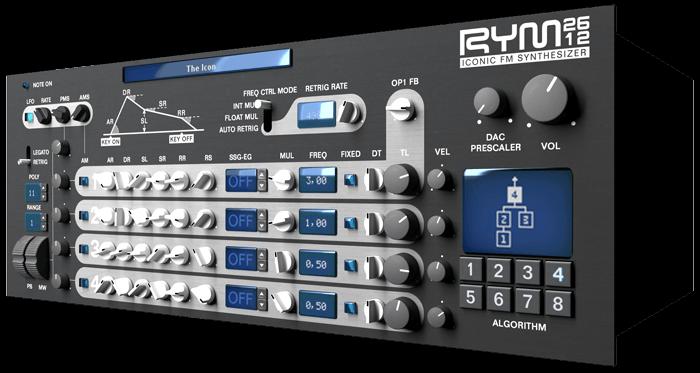 RYM2612 Iconic FM Synthesizer | Inphonik