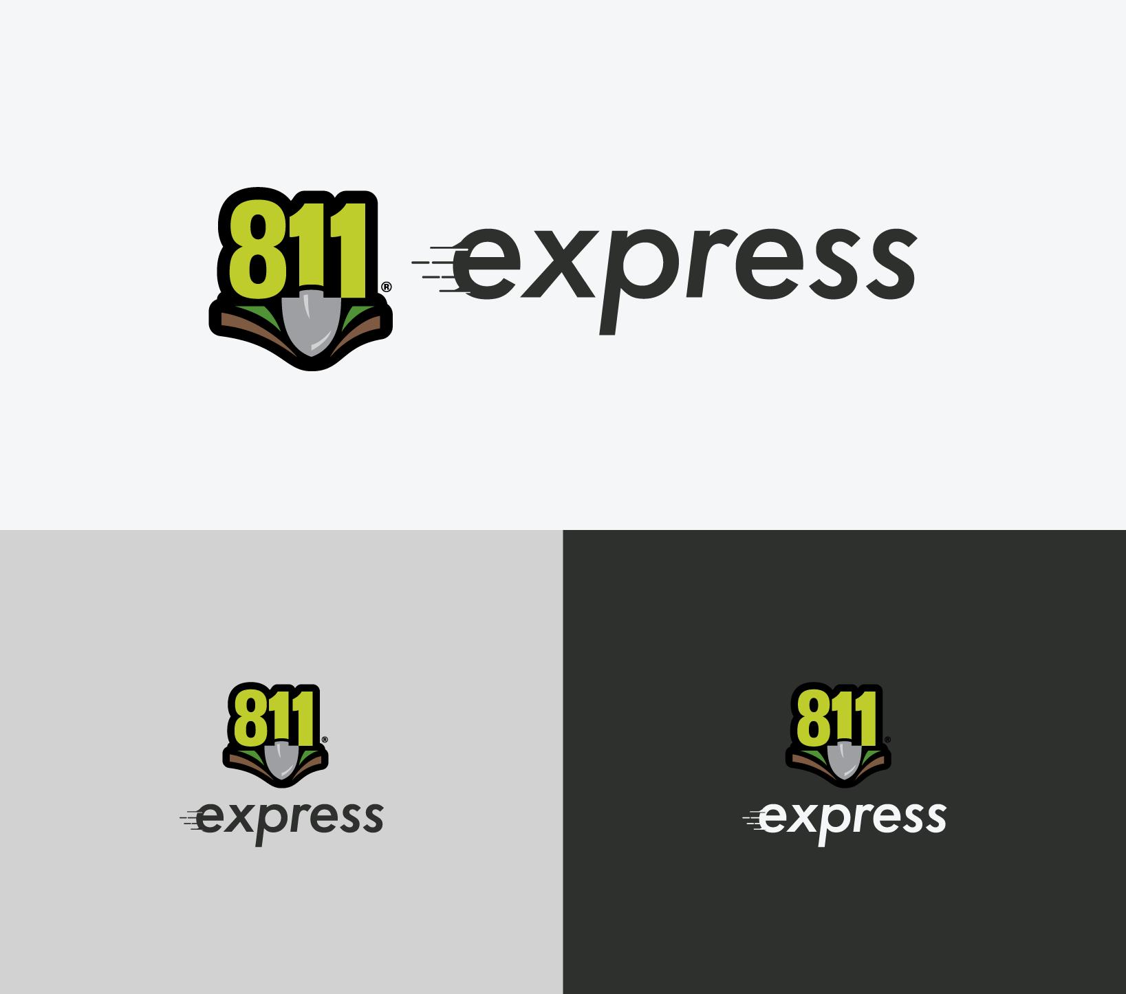 811 Express Logo Design