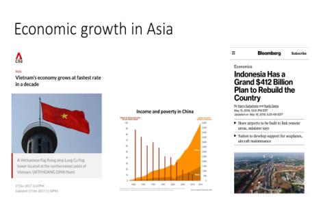 11 Jun. Economic growth in Asia