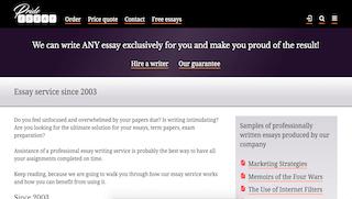 essaypride.com main page