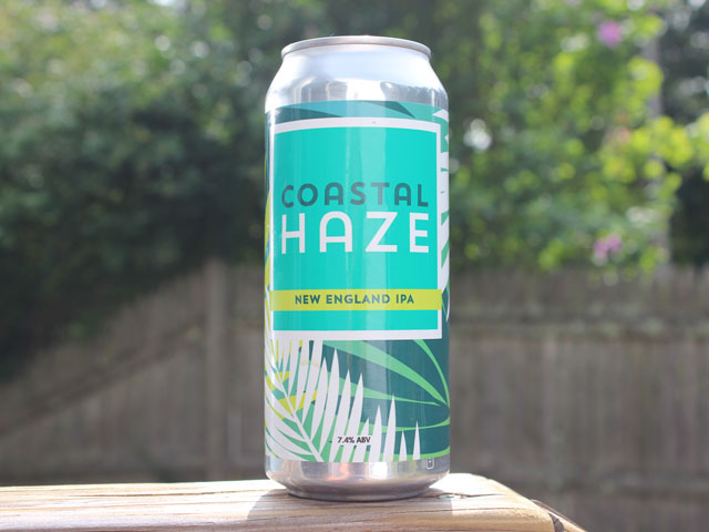 Coastal Haze, a New England IPA brewed by Westfield River Brewing Company
