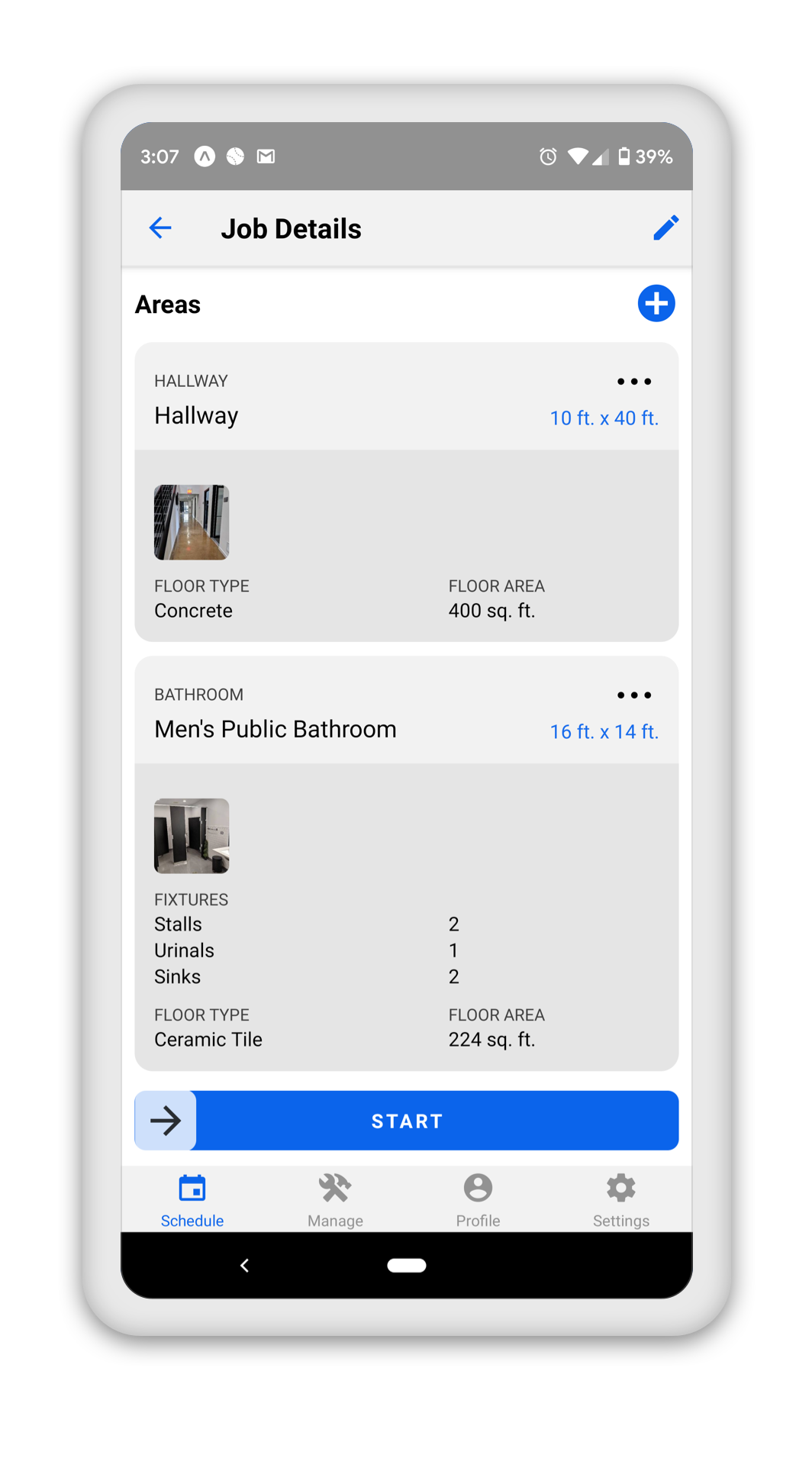 Route Walkthrough Builder for Janitorial Cleaning Service Companies