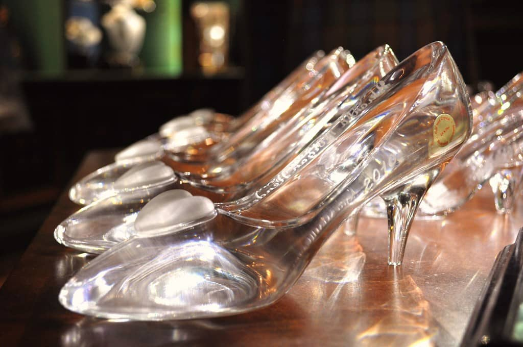 glass slippers by the bucketful for sale