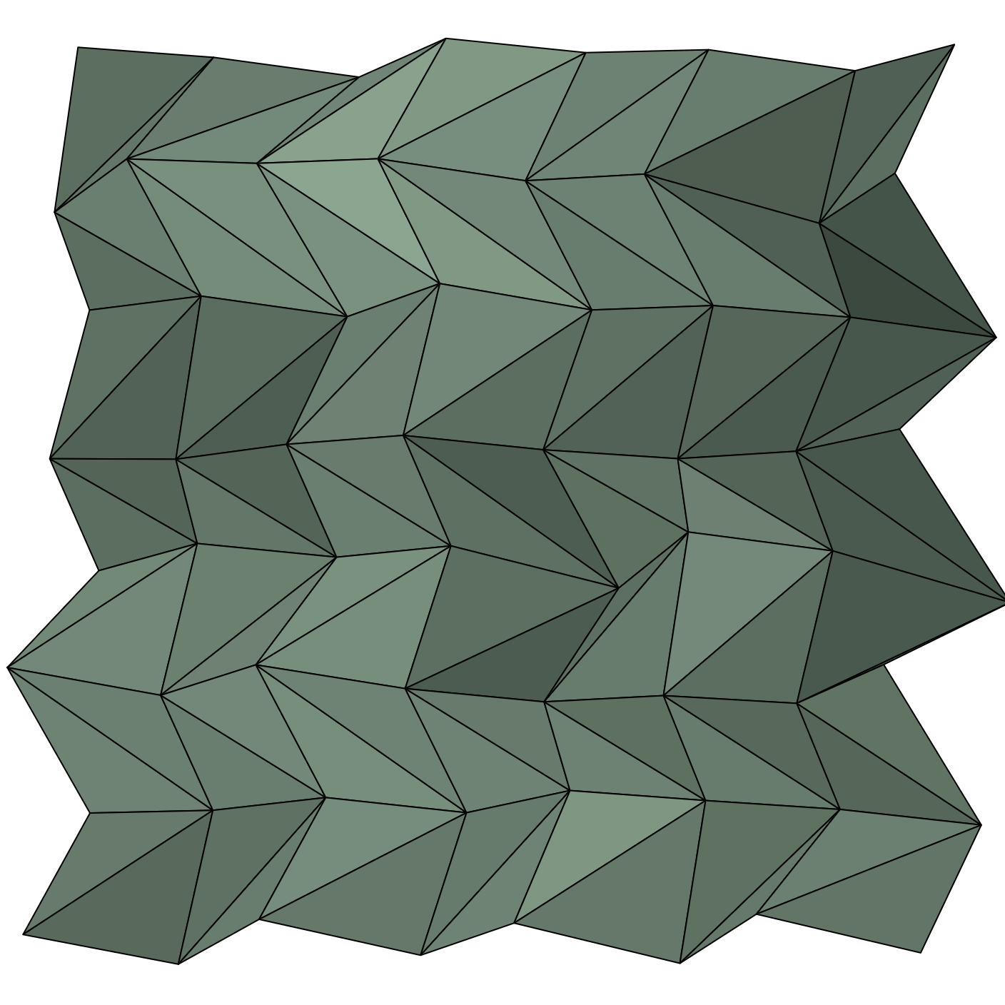 Perlin Triangles