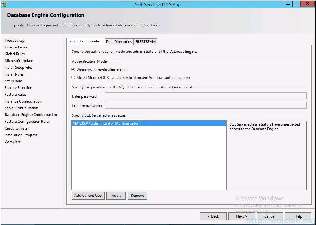vCenter 5.5 on Windows Server 2012 R2 with SQL Server 2014 - 13
