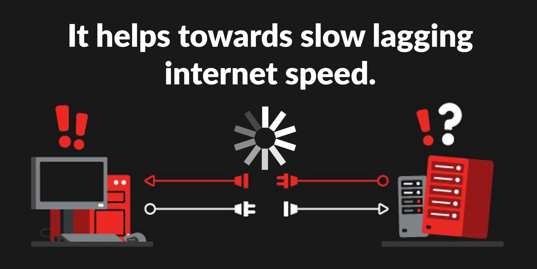 SLOW LAGGING INTERNET SPEED