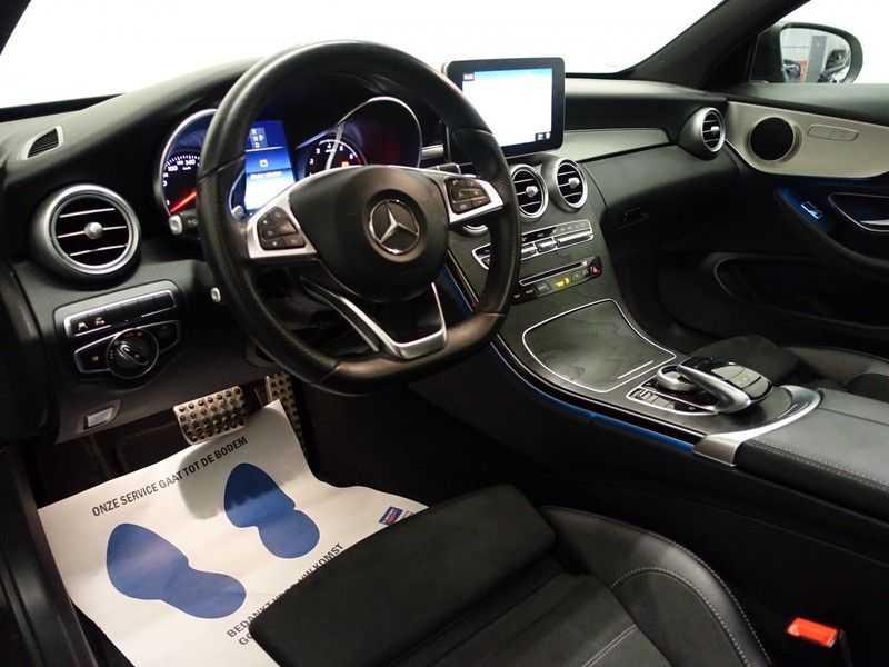Mercedes-Benz C-Klasse Coupé 300 Prestige 245pk AMG Aut- Panodak, Leer, Camera, Navi, Xenon afbeelding 7