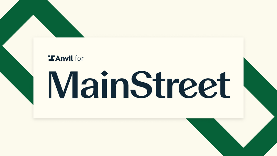 How Mainstreet automated their tax credit process using Anvil's PDF filling API