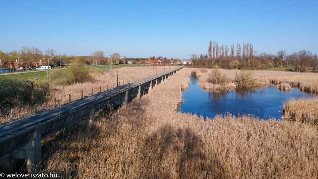 A Horthy-csatorna és a szivattyútelep – Tiszaörvény